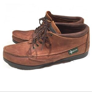 Eastland Vintage 90's Leather Boots Lace Up Brown
